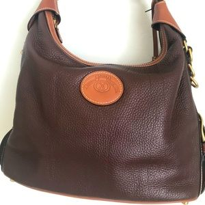 Ghurka Brown/tan Leather Bag
